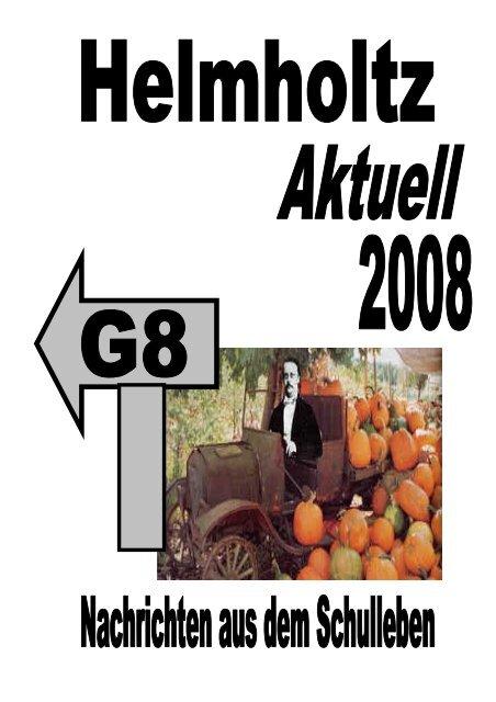 Schuljahr 2007/2008 - Helmholtz Gymnasium Bonn