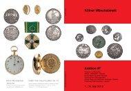 01 Münzen 97 Antike_o.indd - Tyll Kroha - Kölner Münzkabinett