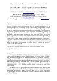 Um estudo sobre o modelo de gestão das empresas familiares