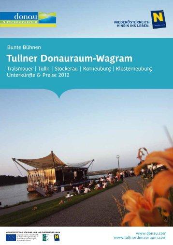Tullner Donauraum-Wagram - Donau Niederösterreich