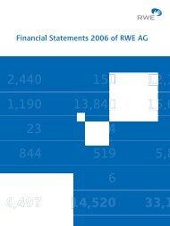 Notes at December 31, 2006 - RWE AG