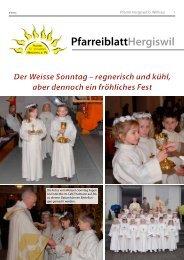 PfarreiblattHergiswil - Peter Helfenstein