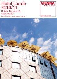Hotel Guide 2010/11 - B2B - Vienna
