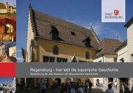 Bewerbungsmappe Regensburg - Haus der Bayerischen Geschichte