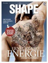 SCA Magazin Shape 3 / 2011 Deutsch