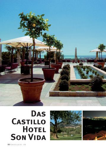 Das Castillo Hotel Son Vida - Porsche Club Deutschland
