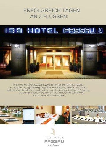 geht`s zu unserem Factsheet - IBB Hotel Passau