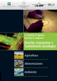 La Facoltà di Agraria incontra le imprese: Ricerche, Innovazione e ...