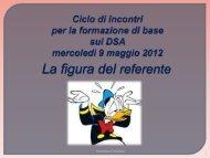 La figura del referente Ettorre - CNTeD Novara