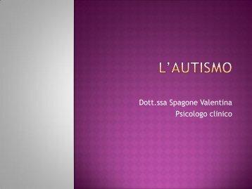 Dott.ssa Spagone Valentina Psicologo clinico