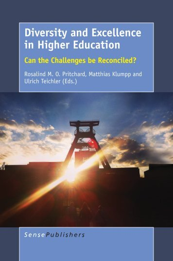 Diversity and Excellence in Higher Education
