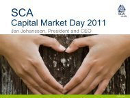 Download SCA capital market day 2011 presentation