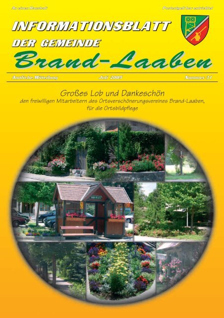 GEMEINDEZEITUNG - 31 - Juli 2005 (2 MB) (0 bytes - Brand-Laaben