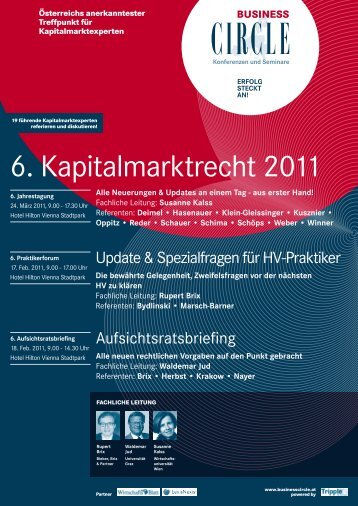 6. Aufsichtsratsbriefing - Business Circle