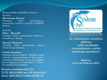 Modena 2012.pdf - SEMORI