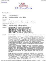 2012 AAOS Annual Meeting