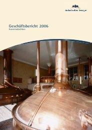 Geschäftsbericht 2006 (PDF) - Kulmbacher Brauerei AG