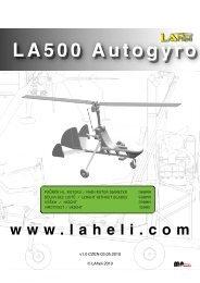 LA500 Autogyro - HeliFleet.com