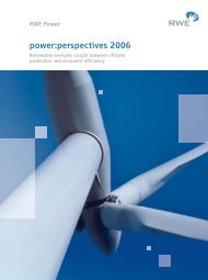 power:perspectives 2006 - RWE AG