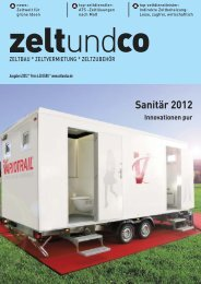 17. November 2012 - zelt und co