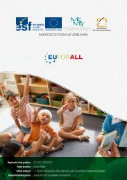 Rovné příležitosti dětí a žáků, včetně