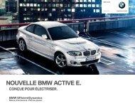 NOUVELLE BMW ACTIVE E