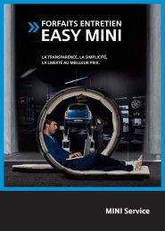 Programme S.A.V. MINI Tarif MINI EASY - Pays de Loire Automobiles