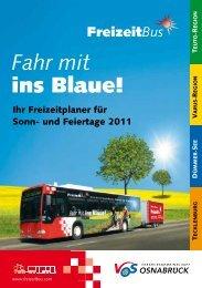 Fahr mit ins Blaue! - Weser-Ems-Bus