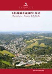 Gästebroschüre 2013 (pdf 4560 KB) - Bad Schwalbach