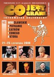 listopad - 2008 - Co Jest Grane