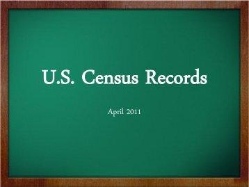 Census Class