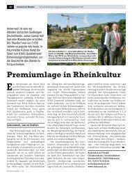 Premiumlage in Rheinkultur - WFG am Mittelrhein mbH
