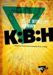 15.-21. oktober 2012 Kobenhavn - KFUM og KFUK i Danmark