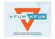 Oplæg om samværsregler kan hentes her (PDF) - KFUM og KFUK i ...