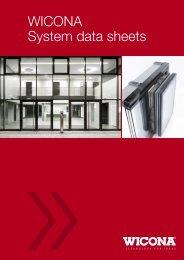 WICONA System data sheets