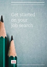 Get started on your job search