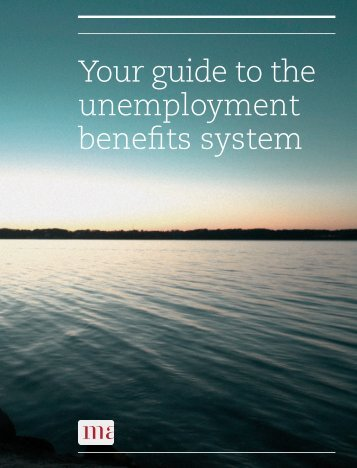 Your guide to the unemployment benefits system