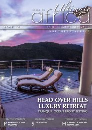 Ultimate Guide To Africa ISSUE 38-OCEAN FRONT SETTING