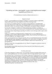 Vejledning om kirke-, præstegårds- og ... - Kirkeministeriet