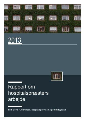 Rapport om hospitalspræsters arbejde
