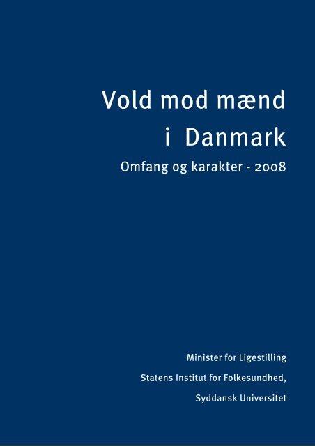 Vold mod mænd i Danmark