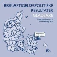 BESKÆFTIGELSESPOLITISKE RESULTATER GLADSAXE - Dansk ...