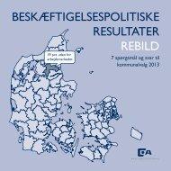 beskæftigelsespolitiske resultater rebild - Dansk Arbejdsgiverforening
