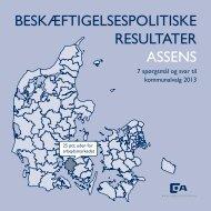 BESKÆFTIGELSESPOLITISKE RESULTATER ASSENS - Dansk ...