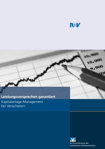 Leistungsversprechen garantiert - R+V Versicherung