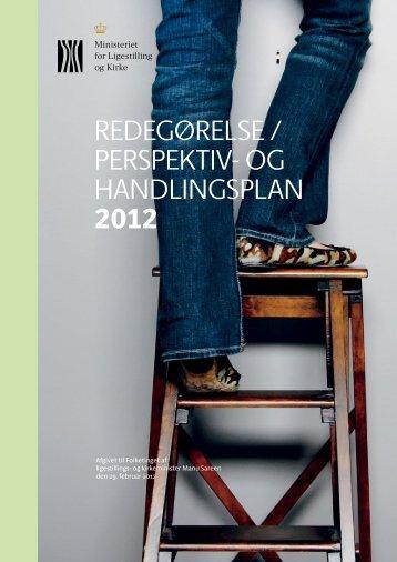 Redegørelse / Perspektiv- og handlingsplan 2012