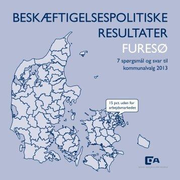 BESKÆFTIGELSESPOLITISKE RESULTATER FURESØ