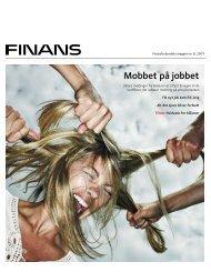 Mobbet på jobbet - Finansforbundet