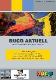 Spezial-Ausgabe - Ruco