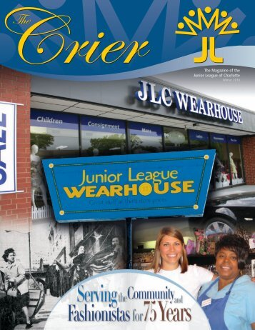 The Magazine of the Junior League of Charlotte